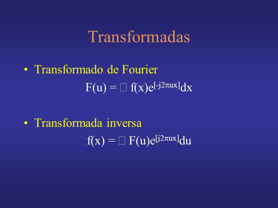 F(u) = ò f(x)e[-j2pux]dx